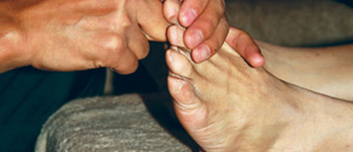 Reflexology as a Cancer Therapy